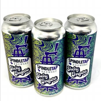 Spindletap: Sticky Fingers DIPA 16oz Can