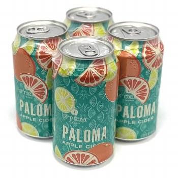 Stem Cider: Paloma Apple Cider 4 Pack Cans