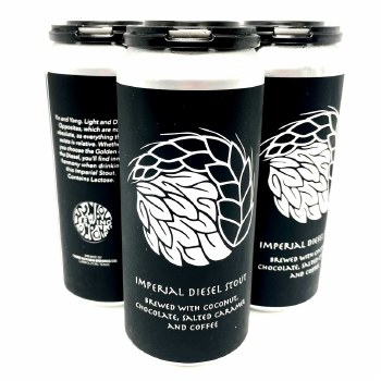 Symbol: Imperial Diesel Stout 4 Pack Cans