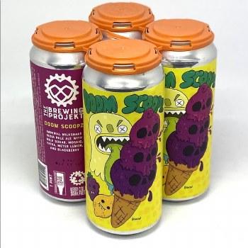 The Brewing Projekt: Doom Scoopz Milkshake IPA 4 Pack Cans