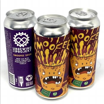 The Brewing Projekt: Smoofee Peach Pineapple 16oz Can