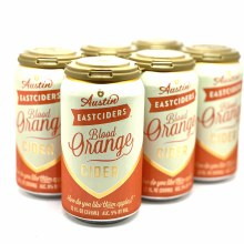 Austin Eastcider: Blood Orange Cider 6 Pack