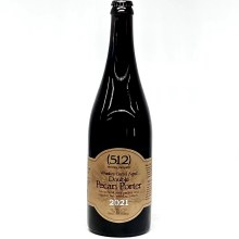 512: Whiskey Barrel Aged Double Pecan Porter 2021 750ml Bottle