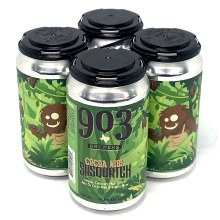 903 Brewers: Cocoa Nibs Sasquatch 4 Pack Cans