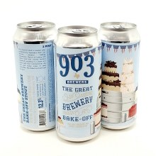 903 Brewers: The Great Brewery Bake-Off 16oz Can