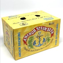Anchor: Steam Beer 6 Pack Cans