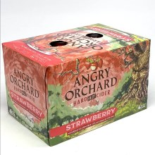 Angry Orchard: Strawberry Cider 6 Pack Cans