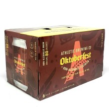 Athletic Brewing: Oktoberfest 6 Pack Cans