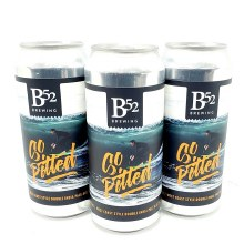 B 52 Brewing Co: So Pitted West Coast DIPA 16oz Can
