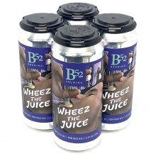 B 52 Brewing Co: Wheez The Juice 4 Pack Cans