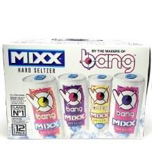 Bang: Mixx Hard Seltzer Variety 12 Pack Cans