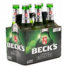 Becks (6 Pack Bottles)