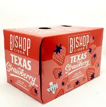 Bishop Cider: Texas Strawberry 6 Pack 12oz