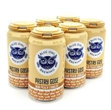 Blue Owl: Pastry Gose Sour Peach Cobbler 6 Pack Cans