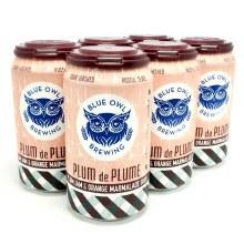 Blue Owl: Plum De Plume 6 Pack Cans