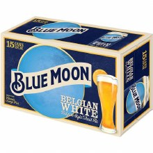 Blue Moon: Belgian White 15 Pack (Cans)