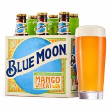 Blue Moon: Mango Wheat 6 Pack