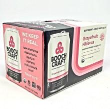 Boochcraft: Grapefruit Hibiscus 6 Pack Cans