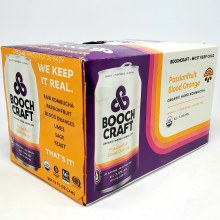 Boochcraft: Passionfruit Blood Orange 6 Pack Cans