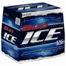 Bud Ice: 12 Pack (Bottles)