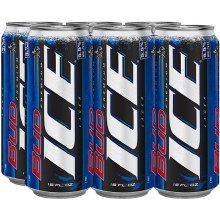 Bud Ice: 6 Pack (16oz Cans)