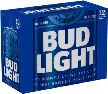 Bud Light: 12 Pack (Cans)