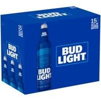 Bud Light: 15 Pack (16oz Aluminum Botttles)