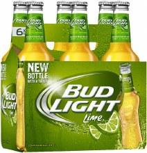 Bud Light: Lime 6 Pack (Bottles)