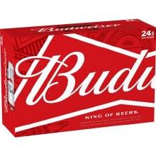 Budweiser: 24 Pack (Cans)