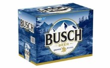 Busch: Beer (30 Pack)