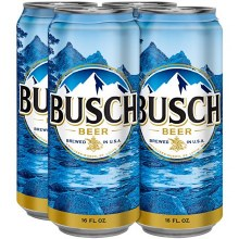 Busch: Beer (6 Pack 16oz Cans)