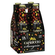 Capriccio Sangria 4 Pack