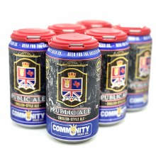 Community: Public Ale 6 Pack Can