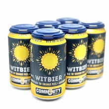 Community: Witbier 6 Pack Can