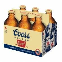Coors: Banquet 6 Pack (Bottles)