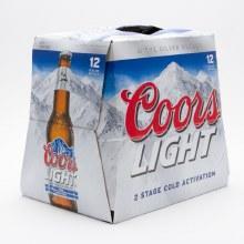 Coors: Light 12 Pack (Bottles)