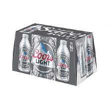 Coors: Light 15 Pack (16oz Aluminum Bottles)