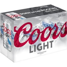 Coors: Light 24 Pack (Cans)
