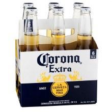 Corona: Extra 6 Pack (Bottles)