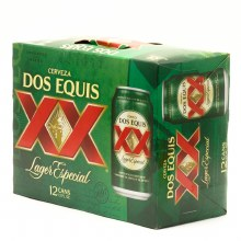 Dos Equis: 12 Pack (Cans)