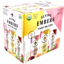 Flying Embers: Hard Seltzer Fruit & Flora Variety 6 Pack Cans