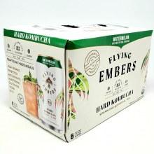 Flying Embers: Hard Kombucha Watermelon 6 Pack Cans
