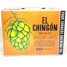 Four Corners: El Chingon IPA 12 Pack Can