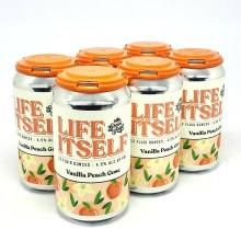 Great Raft: Life Itself Vanilla Peach Gose 6 Pack Cans