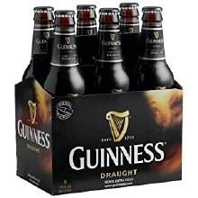 Guinness: Draught (6 Pack Bottles)