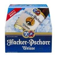 Hacker Pschorr: Weisse (4 Pack 16oz Cans)