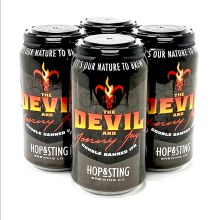 Hop & Sting: The Devil and Jonny Jay double Damned IPA