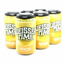 Hop And Sting: Weisser Time 6 Pack