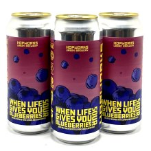 Hopworks: When Life Gives you Blueberries Sour Single 16oz