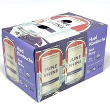 June Shine: Acai Berry 6 Pack Cans